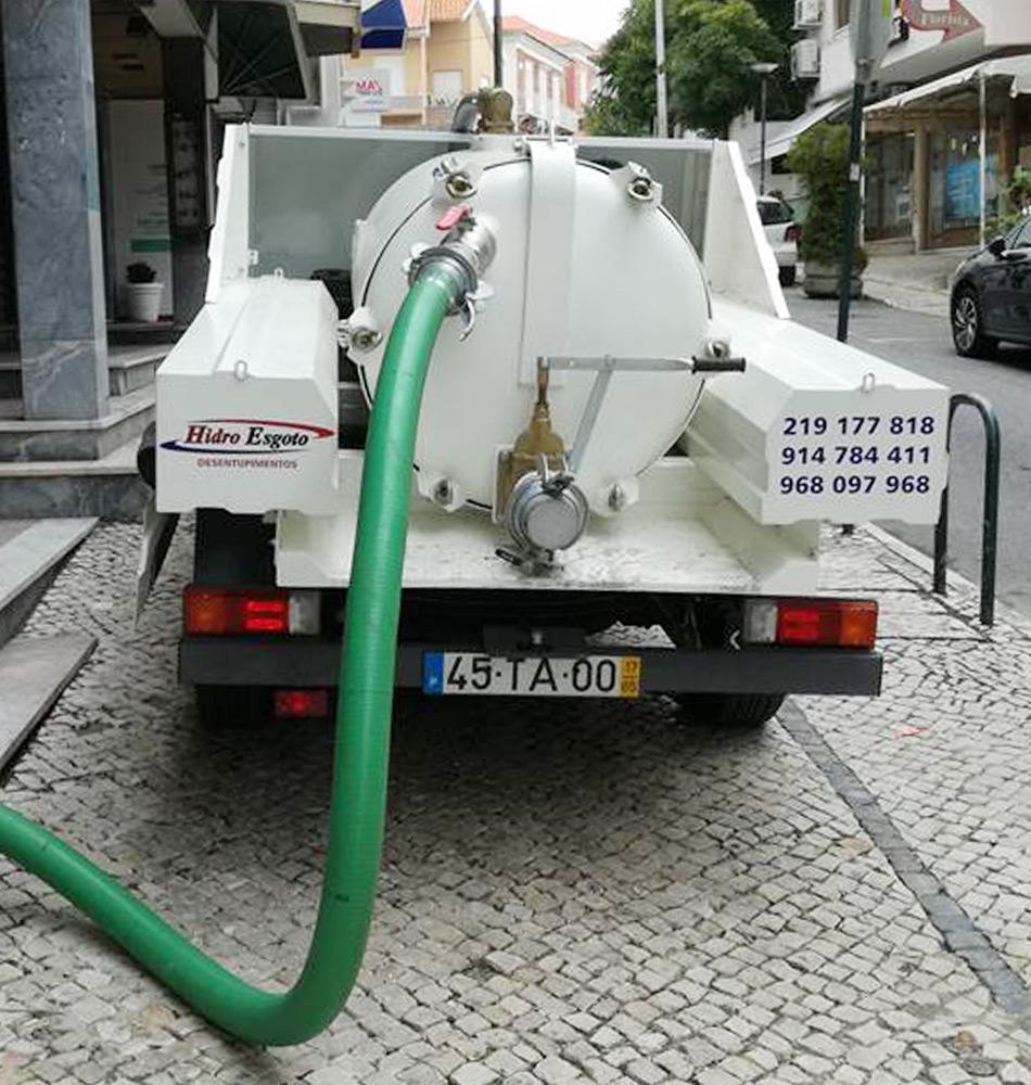 Limpeza de fossas sépticas Sintra